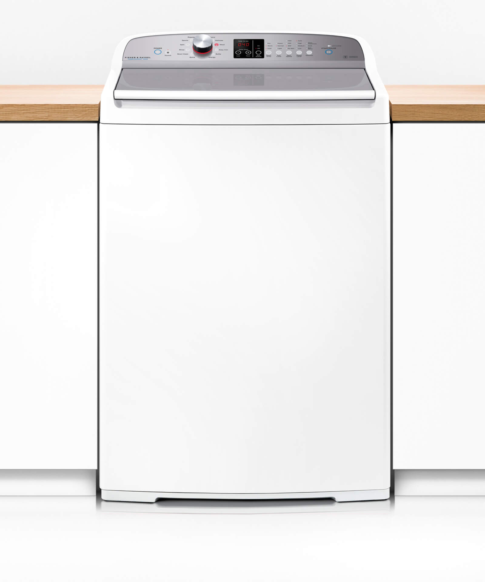 fisher paykel front loader washing machine manual